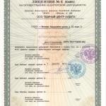 Лицензия на осуществление аудиторской деятельности 2013