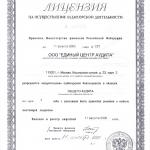 Лицензия на аудиторскую деятельность 2000